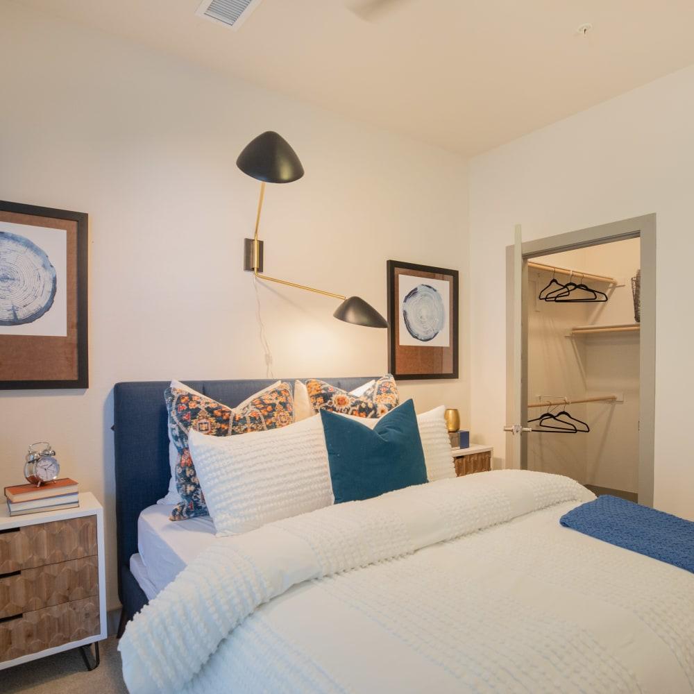 Trendy Style Master bedroom  The Alcott in Denver, Colorado