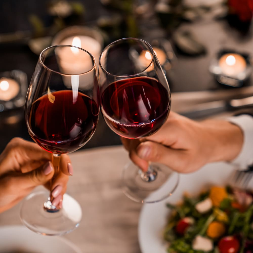 Dine and sip near The 450 in Lombard, Illinois