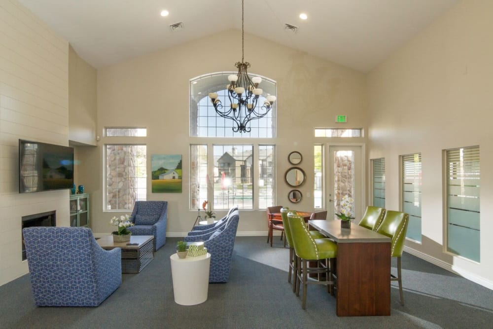 common area at Alpine Meadows Apartments