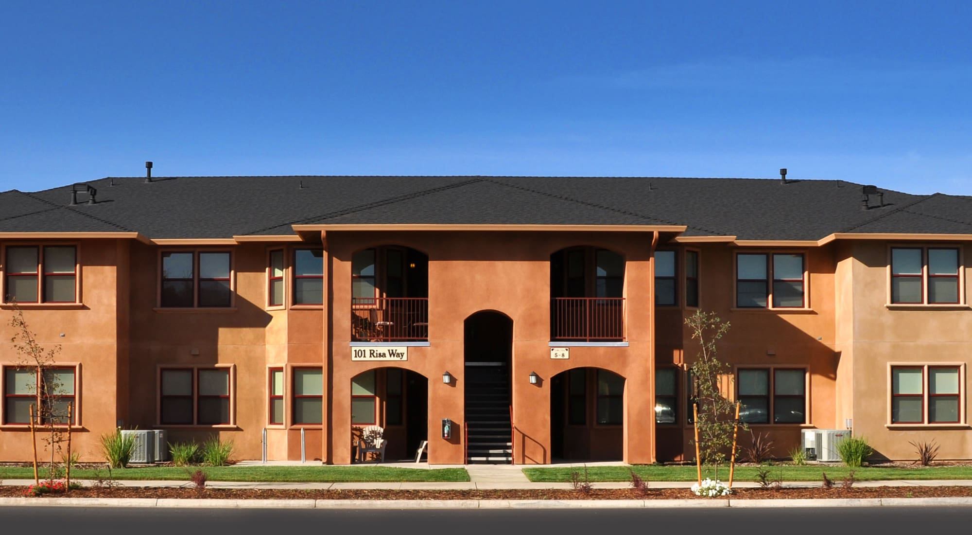 Floor plans at Villa Risa Apartments in Chico, California