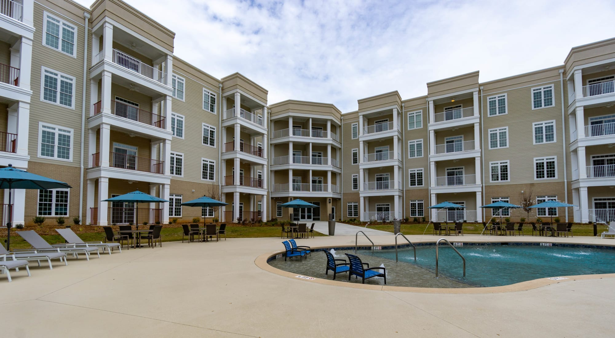 Apartments at The Station at River Crossing in Macon, Georgia