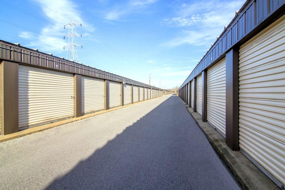 Drive-up unit at Prime Storage in Glenville, NY