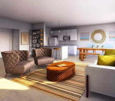 Luxury apartments at Woodland Acres Townhomes in Liverpool