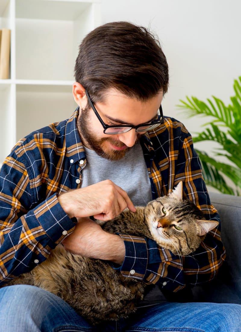 Two pets maximum per apartment at Marquis at Caprock Canyon in Austin, Texas