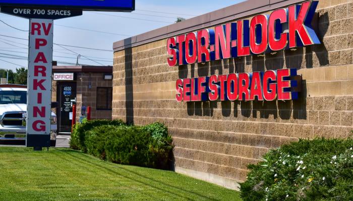 The exterior of STOR-N-LOCK Self Storage in Taylorsville, Utah