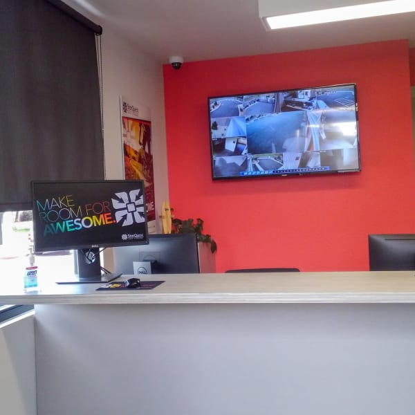 Interior of the leasing office at StorQuest Self Storage in Reno, Nevada