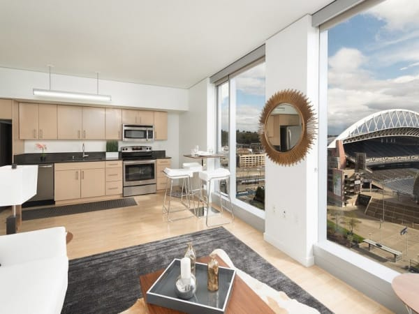 View our floor plans at The Wave at Stadium Place in Seattle, Washington