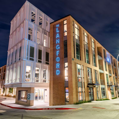The Langford apartments in Dallas, Texas