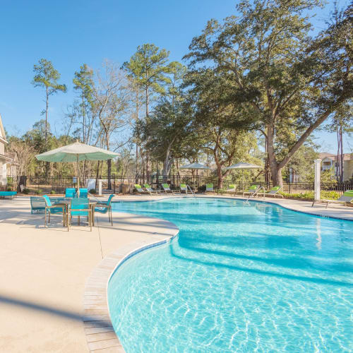 View virtual tour for our swimming pool area at Arbor Village in Summerville, South Carolina