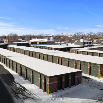 Aerial view of units at Storage Star Fairfield in Fairfield, California