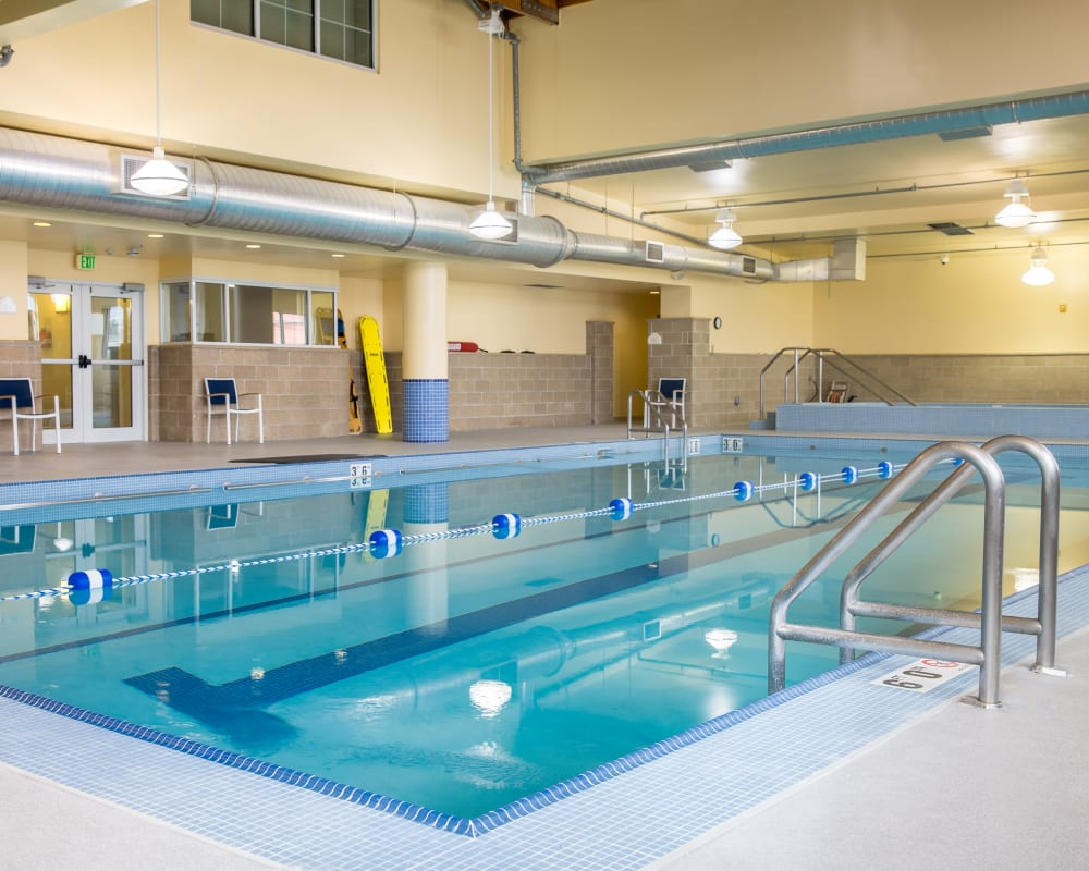 The fitness club pool at Touchmark on West Century in Bismarck, North Dakota