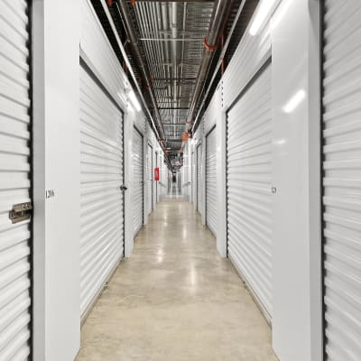 A covered loading dock at Storage Star Mopac in Austin, Texas