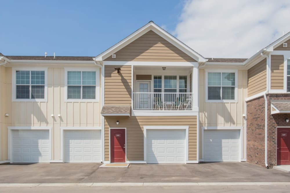 Attached Garages and Private Balconies at Springs at Egan Drive in Savage, MN