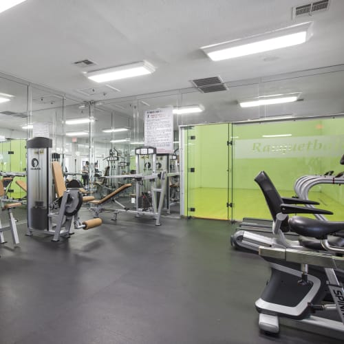 View virtual tour of our onsite gym at Lago Paradiso at the Hammocks in Miami, Florida