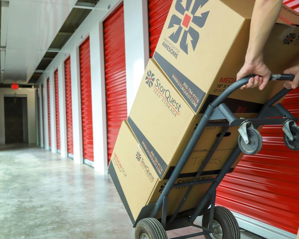 Business storage at StorQuest Self Storage