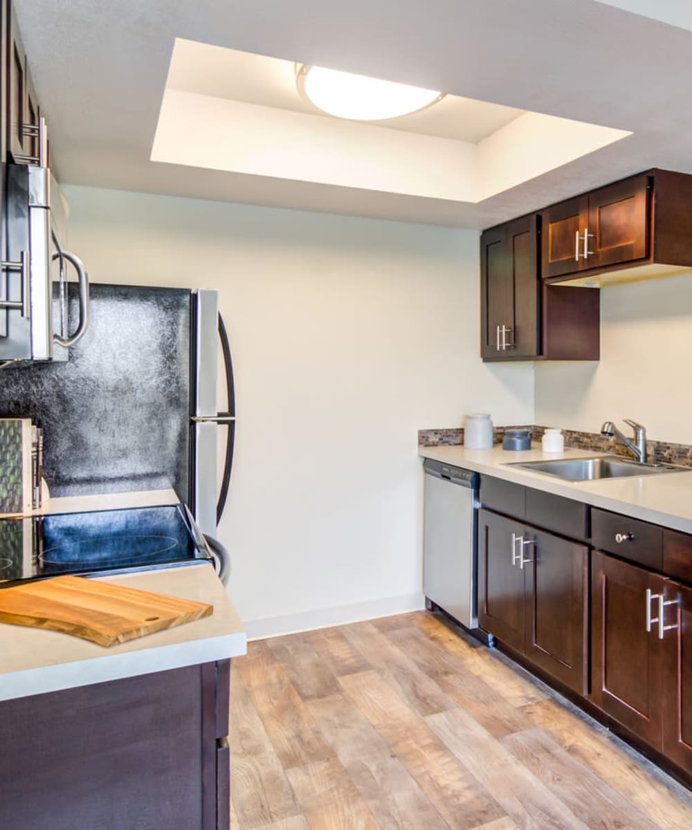 Spacious floor plans at the apartments for rent in Lake Oswego