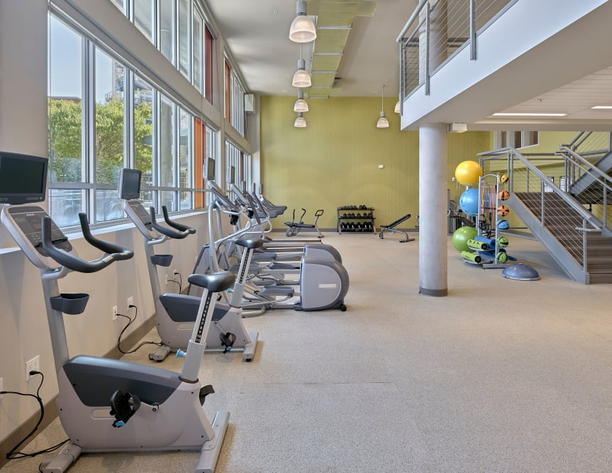 Our Apartments in Burien, Washington offer a Gym