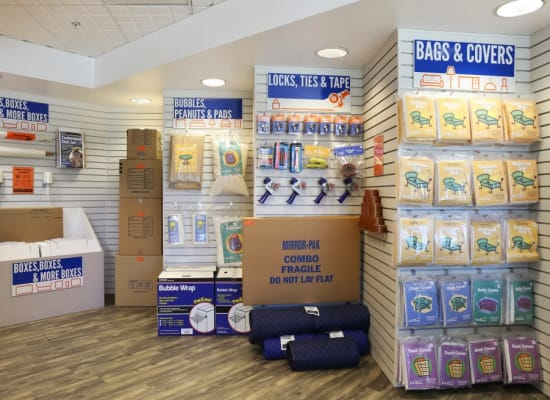 Packing supplies at A-1 Self Storage in Glendale, California