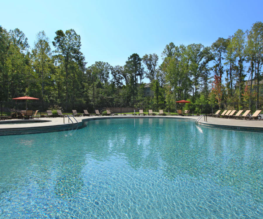 The District at Phenix City offers an outdoor swimming pool in Phenix City, Alabama