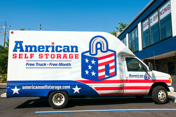 Rental Truck at American Self Storage in Tinton, New Jersey