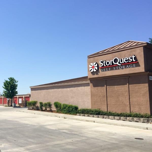 Exterior of StorQuest Self Storage in Stockton, California
