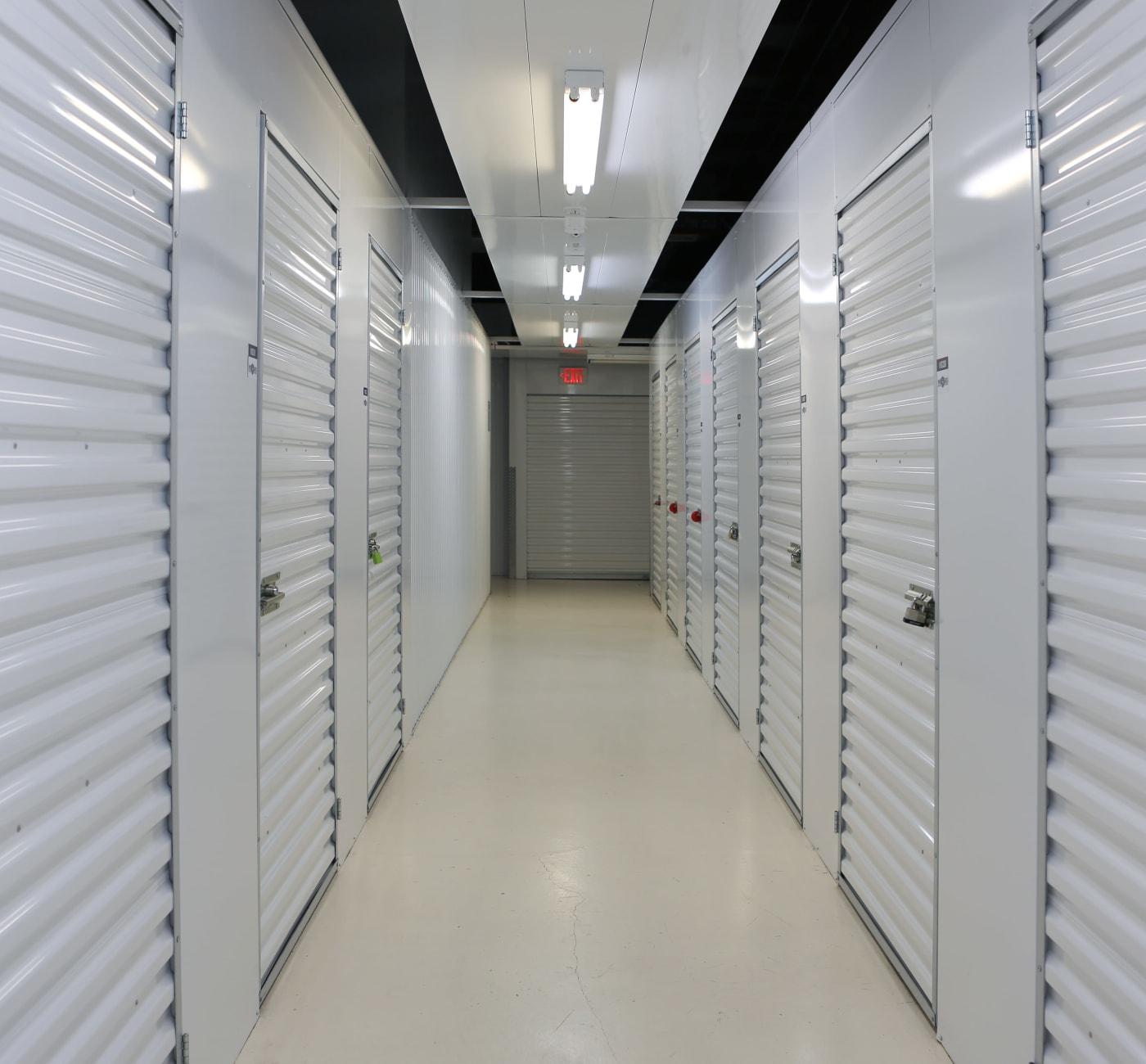 Outdoor storage unites at Midgard Self Storage in Cashiers, North Carolina
