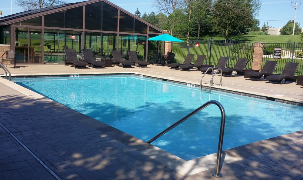 Outdoor swimming pool from another angle at The Preserve at Osprey Lake