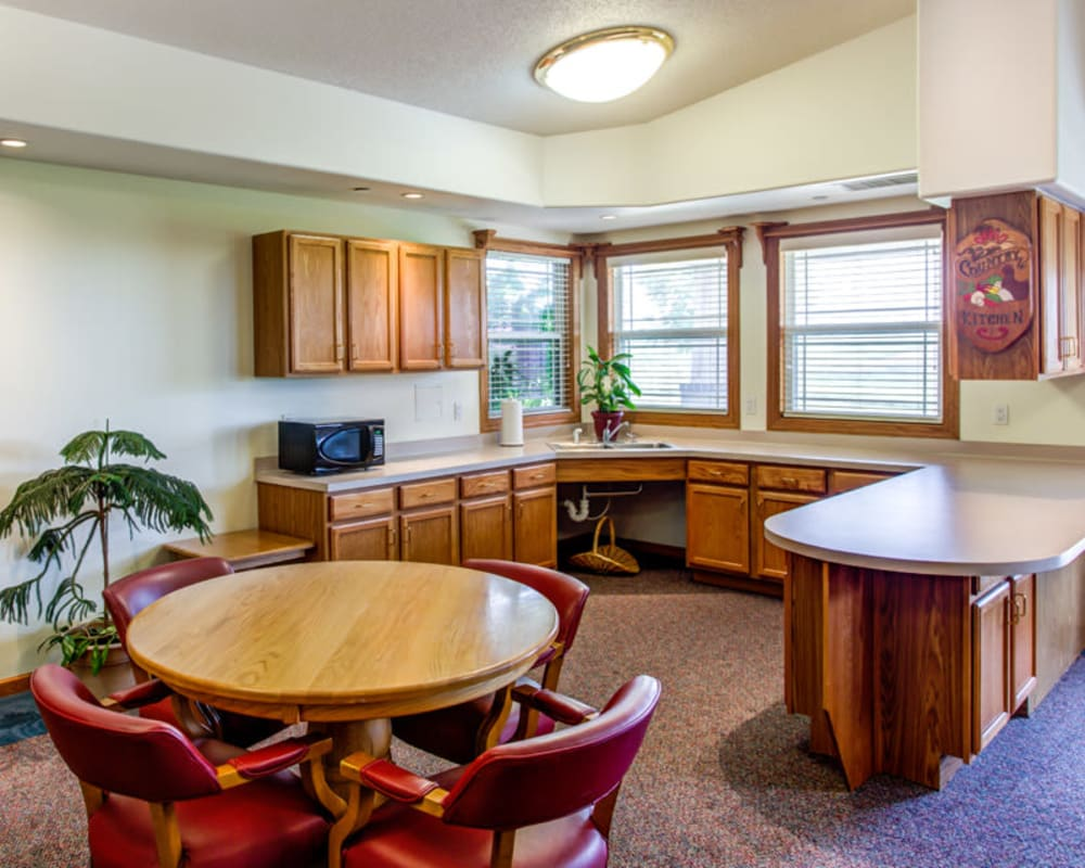 Spacious kitchens are available at Prairie Hills in Tipton, Iowa.