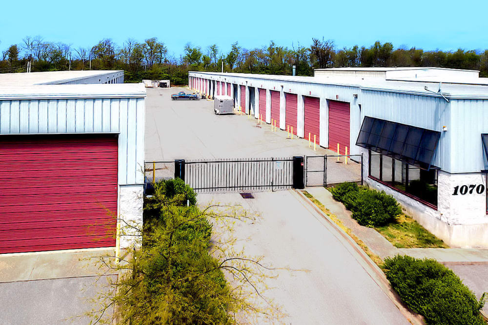 Aerial view of Prime Storage in Nicholasville, Kentucky
