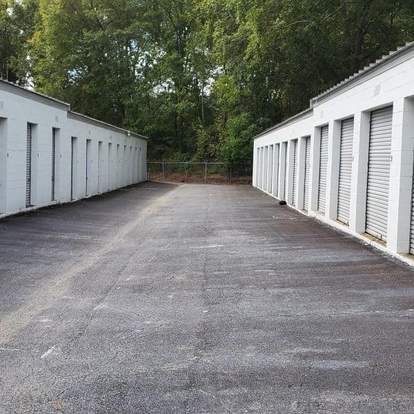 Storage units at StayLock Storage in Warner Robins, Georgia