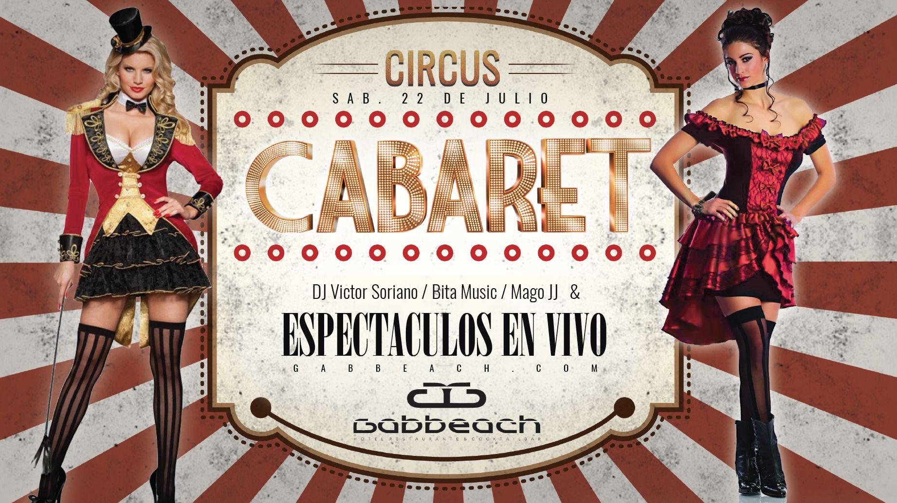 Circus Cabaret dinner show Valencia & party 2017