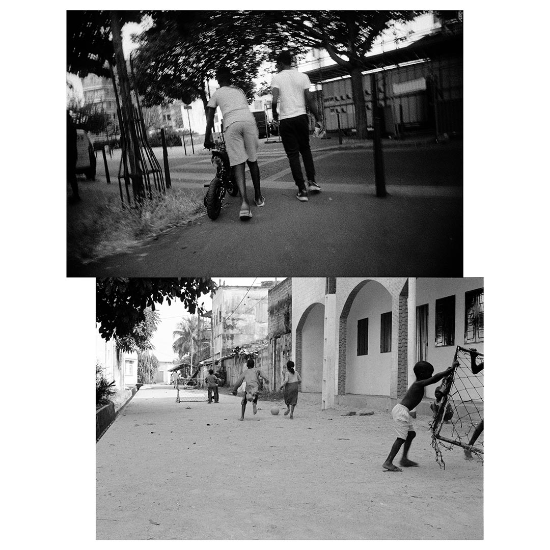 +225...33+ is a photography essay between Abidjan and Paris