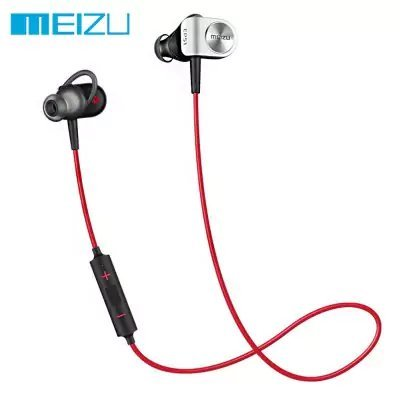 Original Meizu EP51 Bluetooth HiFi Sports Earbuds – RED WITH BLACK