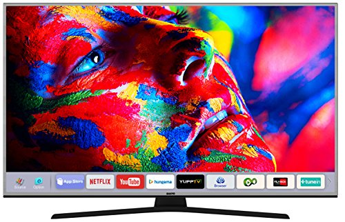 Sanyo 139 cm (55 inches) 4K XT-55S8200U 4K UHD LED Smart TV (Metallic)