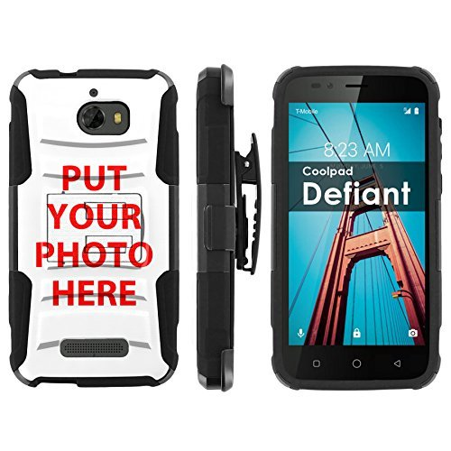[POPCulture] Custom Rugged Case for CoolPad Defiant Your Grand Kids Phone Case [0] Tactical Armor Case [Kickstand] [Holster]