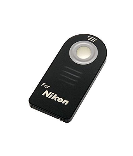 QuikProf Wireless Remote Control for Nikon D5200 D3200 D3300 D600 D610 D7100 SLR ML-L3