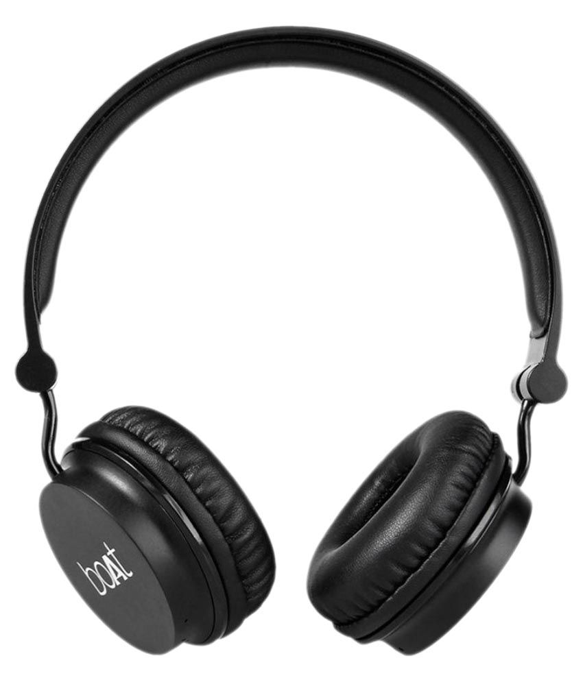 Buy Boat Rockerz 400 Carbon On Ear Wireless Headphones at Rs.1,499