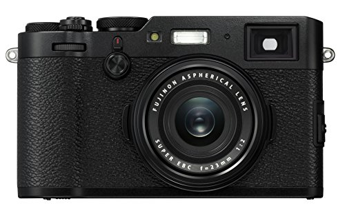 Fujifilm X100F 24.3 MP APS-C Digital Camera – Black