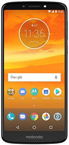 Moto E5 Plus (Black, 5000 mAh Battery)