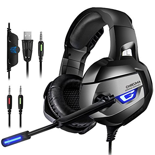 ONIKUMA Gaming Headset for PS4, Xbox One