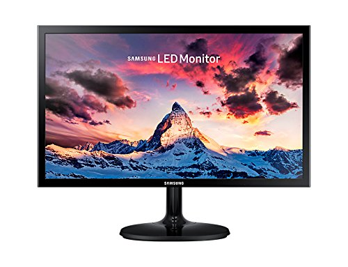 Samsung 21.5 inch (54.6 cm) LED Monitor – Full HD, TN Panel with VGA, HDMI Ports – LS22F355FHWXXL (Black)