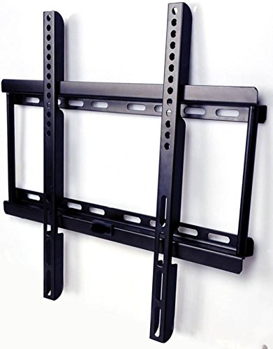 AlexVyan – Imported Fixed TV Wall Mount Bracket for 32″ to 55″ Flat Panel For LCD / LED / OLED Plasma – Strong Built with Premium Finishing – Load Capacity 50KG – (200*200 to 400*400 MM Vesa) For TV of Sony LG Samsung Micromax Lloyd Panasonic Bravia Phillips Yu Hier Videocon and Others