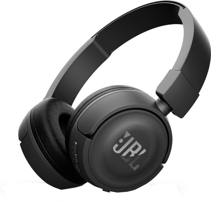 Buy JBL T450 BT Bluetooth Headset with Mic  (Black, Over the Ear) at Rs,2499