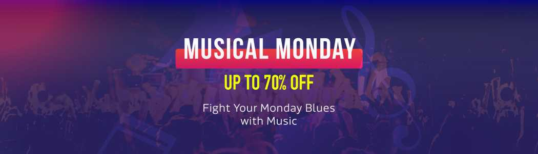 Flipkarts Musical Monday – Get upto 70% off on Headphones & Speakers