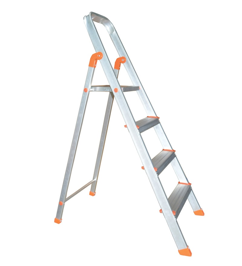 Flat 76% off on Alnico Aluminium 4 Steps 4.8 FT Ladder