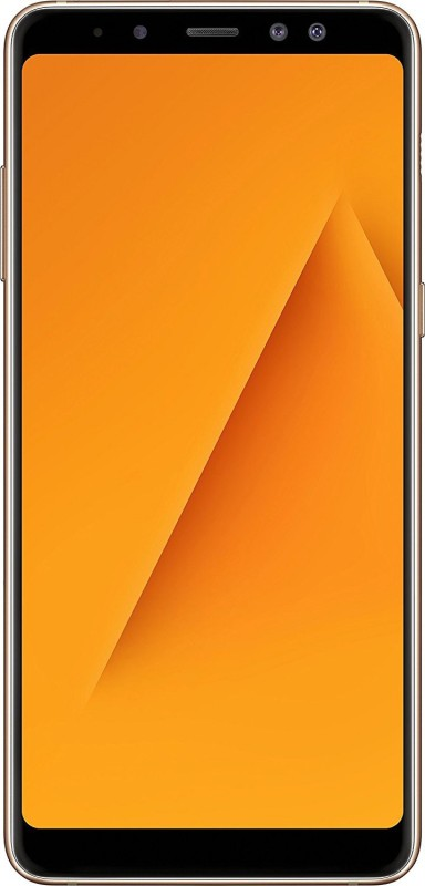 Samsung Galaxy A8 Plus (Gold, 64 GB)(6 GB RAM)