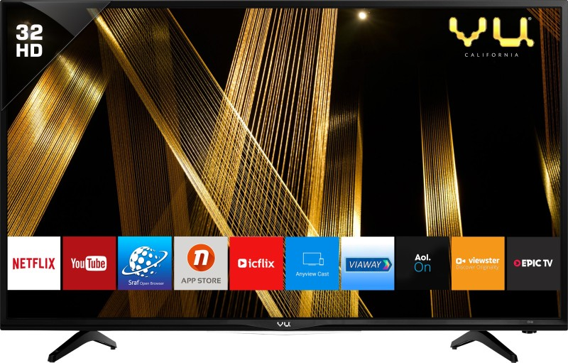 Vu Premium Smart 80cm (32 inch) HD Ready LED Smart TV(32D6475)