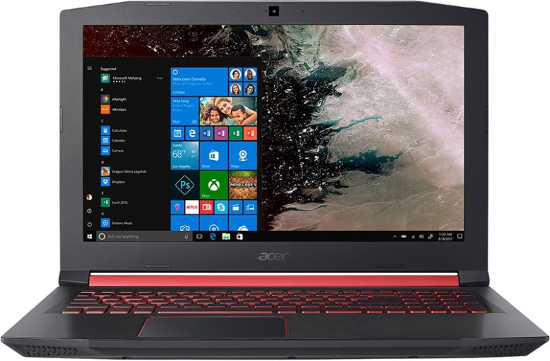 Acer Nitro Core i7 8th Gen 15.6-inch Laptop (8GB/1TB/128 GB SSD/Windows 10/4GB Graphics/Black/2.7kg), AN515-52