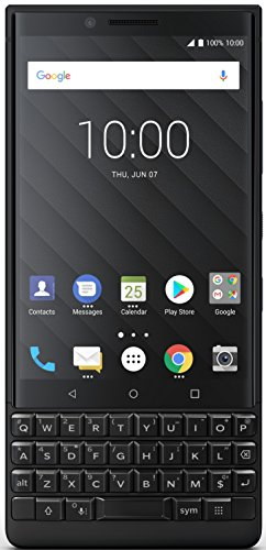 BlackBerry Key2 (Black, 6GB RAM, 64GB Storage)