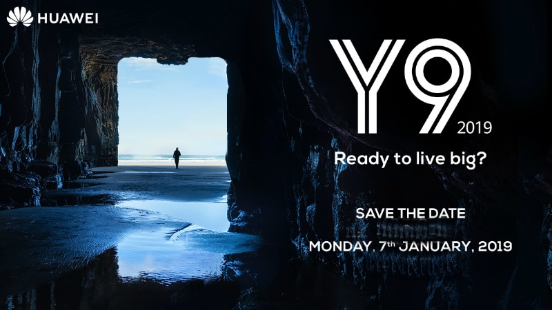 Huawei Y9 2019 to launch on January 7 in India